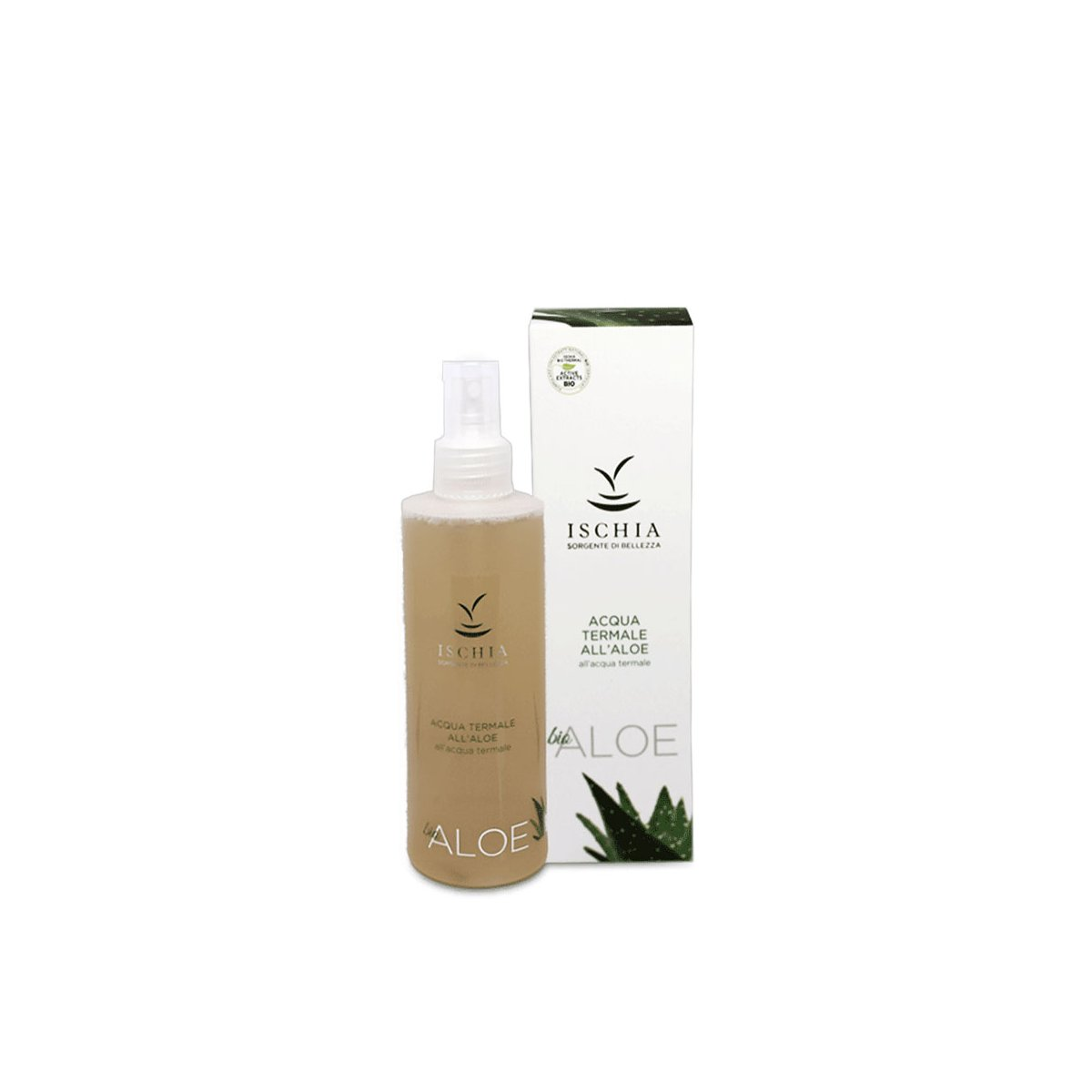 Acqua Termale spray Aloe 200 ml. - Ischia Sorgente di bellezza